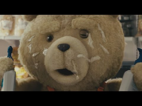 Ted - hot supermarket scene HD