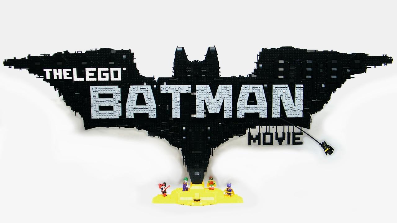 The Lego Batman Movie Logo Moc Time Lapse Youtube