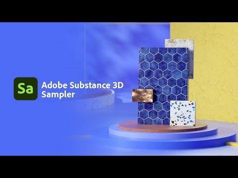 Start Adobe Substance 3D Sampler