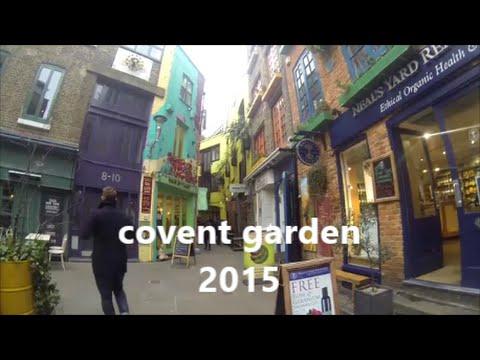 LONDON TRAVEL : COVENT GARDEN 2015