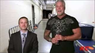 Kevin Nash does Pat Patterson & Scott Hall impersonation