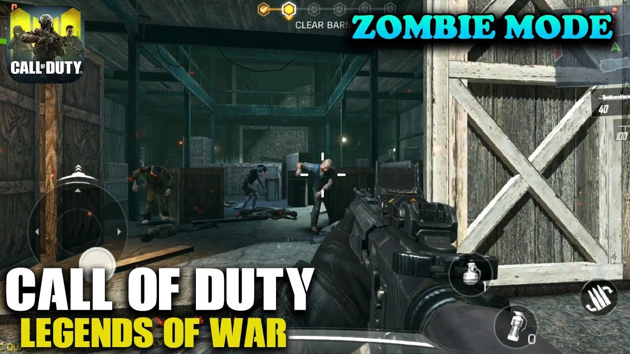CALL OF DUTY MOBILE - ZOMBIE MODE GAMEPLAY (ANDROID / iOS) - YouTube