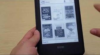 Review Máy đọc sách ONYX BOOX C67ML Carta + 8G Wi-Fi Android 4.22: khả năng đọc file PDF