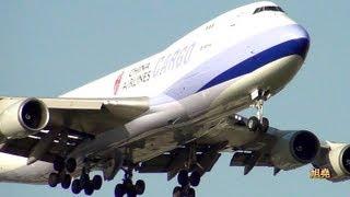 民航飛機低空轟過頭頂的震撼力