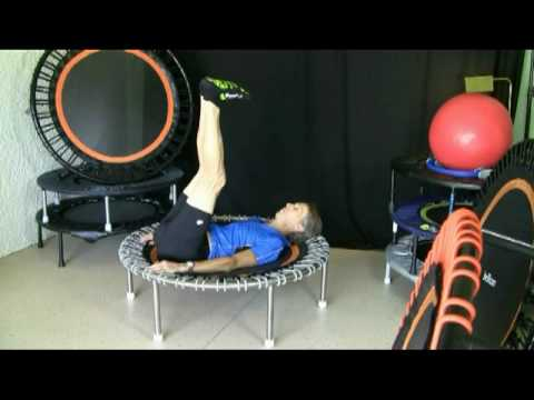 QiBounding - Six Pack Exercises on the Rebounder