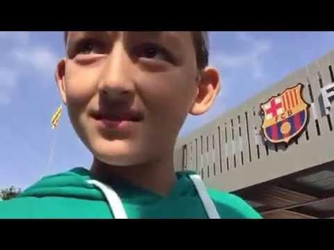 It is here Barcelona stadium