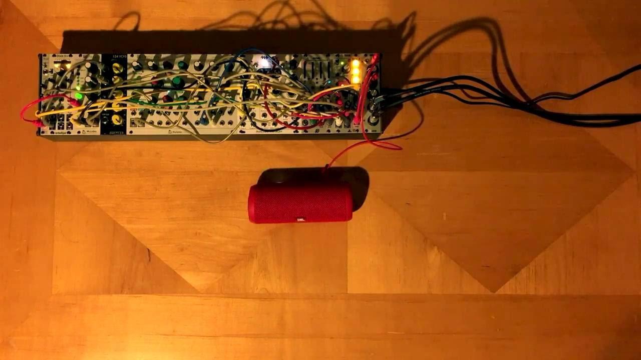 3u modular synth jam with batumi 2hp modular wasp filter youtube. Black Bedroom Furniture Sets. Home Design Ideas