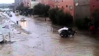 فيضانات اليوسفية حي الزلاقة youssoufia thumbnail