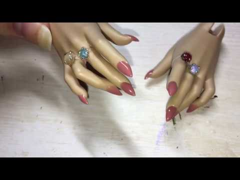 DIY BJD Acrylic Nails