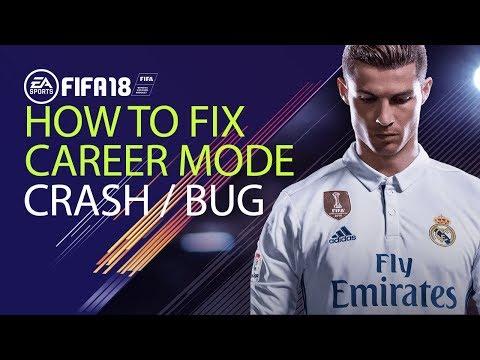 FIFA 18 | How To Fix Career Mode Bug-crash