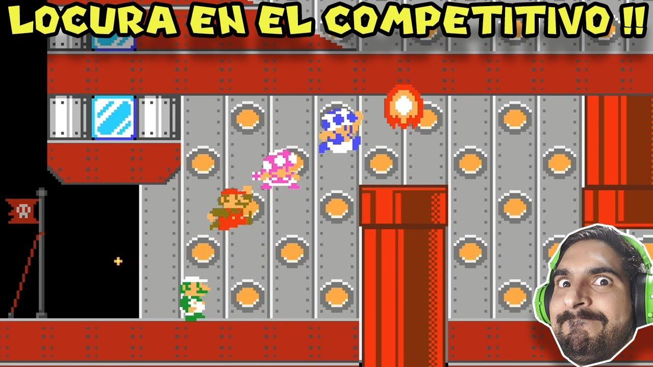 LOCURA EN EL COMPETITIVO !! - Super Mario Maker 2 Competitivo con Pepe el Mago (#11)