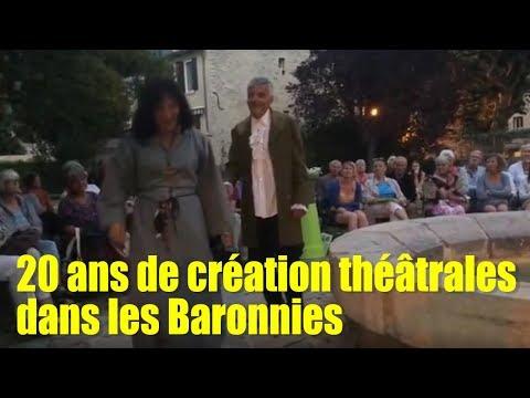 sem29 Mistral TV Drôme Ardèche 20 ans de créations théâtrales dans les Baronnies