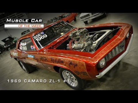Muscle Car Of The Week Video 1 1969 Camaro Zl 1 1
