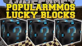 Minecraft: POPULARMMOS LUCKY BLOCK MOD (CAN YOU SURVIVE THE FURY?) Mod Showcase