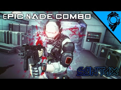Epic Nade Combo (Ghost in the Shell - First Assault Online Gameplay)