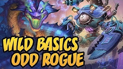 Wild Basics Odd Rogue | Saviors of Uldum | Hearthstone