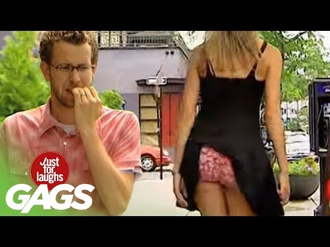 Stuck Up Dress Prank – Just For Laughs Gags