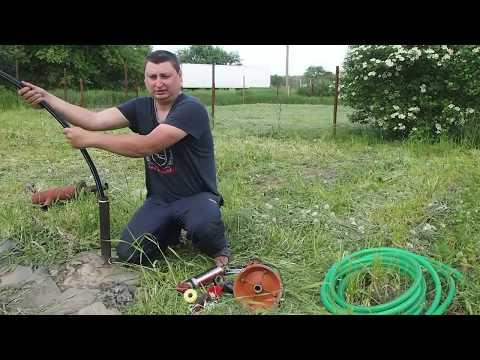 Установка водяного насоса Агидель для полива со скважины