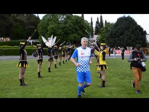 Dragan Covic na fudbalskoj utakmici