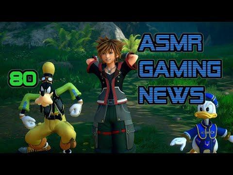 ASMR Gaming News (80) Kingdom Hearts 3, Fortnite 60FPS, Overwatch Buffs, Blanka SFV, Bayonetta 3