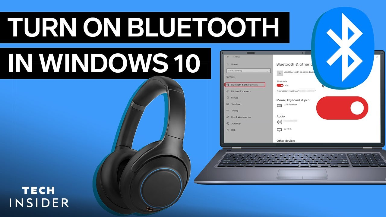How To Turn Bluetooth On In Windows 10