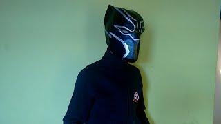como fazer capacete pantera negra (capitão america guerra civil) parte 1