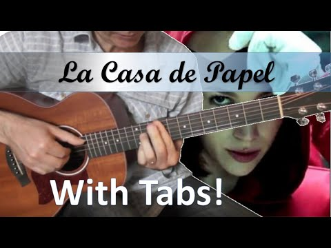 La casa de papel My life is going on - Cecilia Krull - Guitare Cover