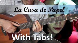La casa de papel (My life is going on) - Cecilia Krull - Guitare Cover
