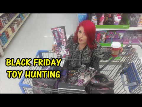 Black Friday Toy Hunting And HUGE Toy Haul