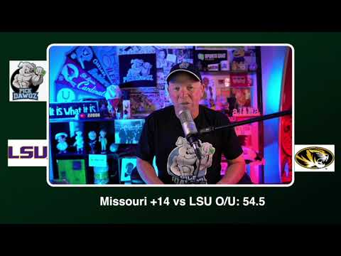 Missouri vs LSU Free College Football Picks and Predictions CFB Tips Saturday 10/10/20