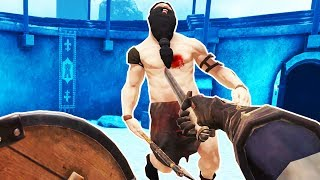 AMAZING and MAGICAL GLADIATOR BATTLES in VR! - Blade and Sorcery Gameplay - VR HTC Vive