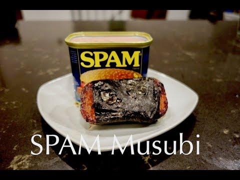 Hawaiian SPAM Musubi