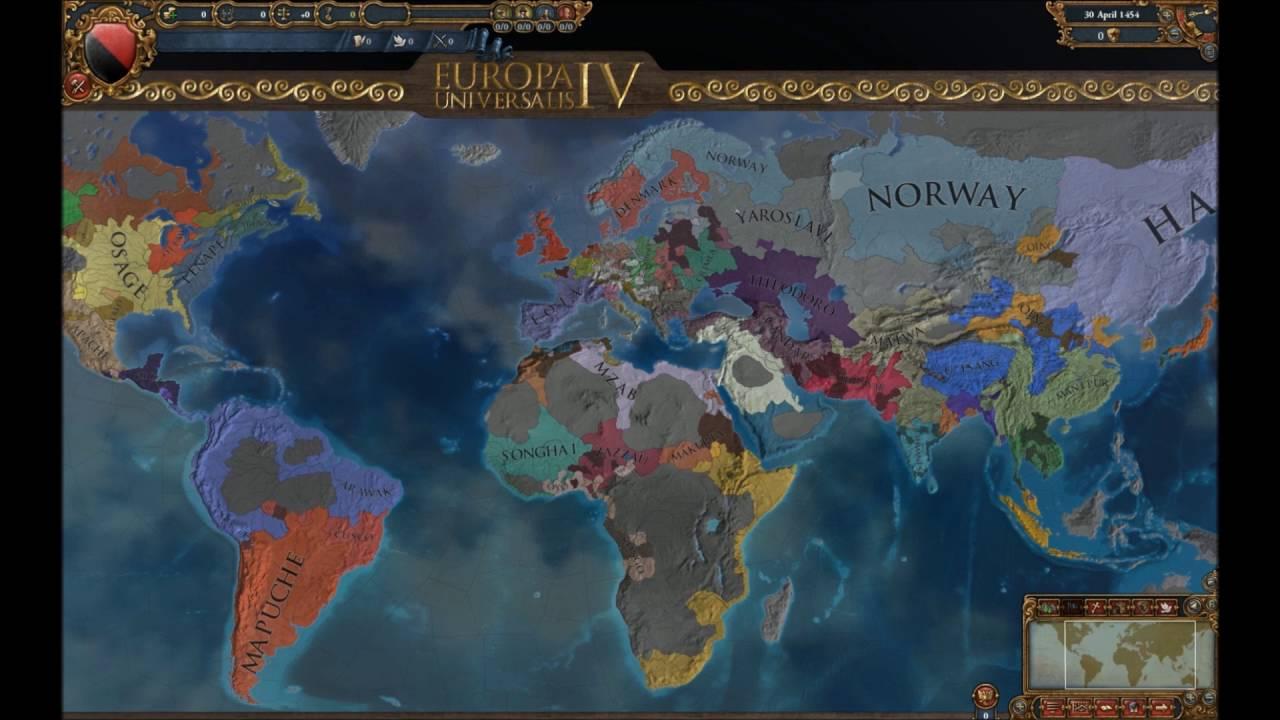 Timelapse EU4: Dawn of Civilization and War - Michael
