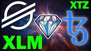 Crypto GEMS! Stellar Lumens (XLM) + Tezos (XTZ) | Important Partnerships + Price Action
