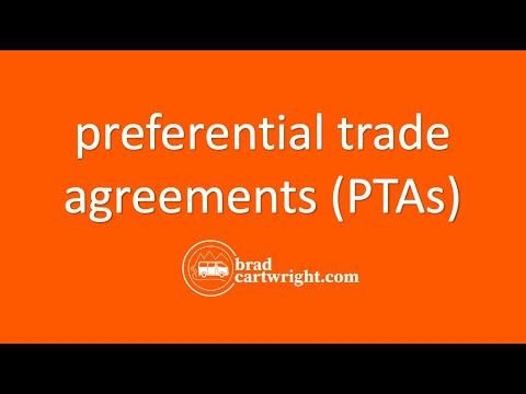 International Trade and Economic Development Unit:   Bilateral and Regional PTAs