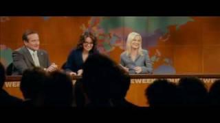 President Tom Dobbs (Robin Williams) on SNL with Tina Fey