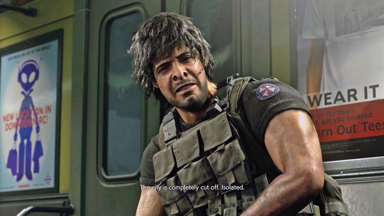Resident Evil 3 Demo Pc Mod Carlos As Ubcs Platoon Leader