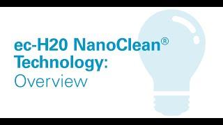 Tennant ec-H2O NanoClean® Technology