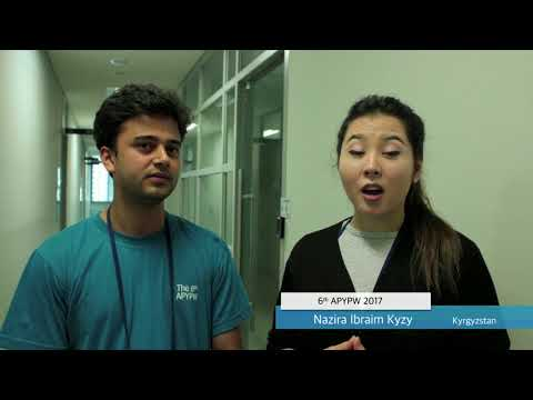 The 6th Asia Pacific Youth Parliament for Water_Video Clip
