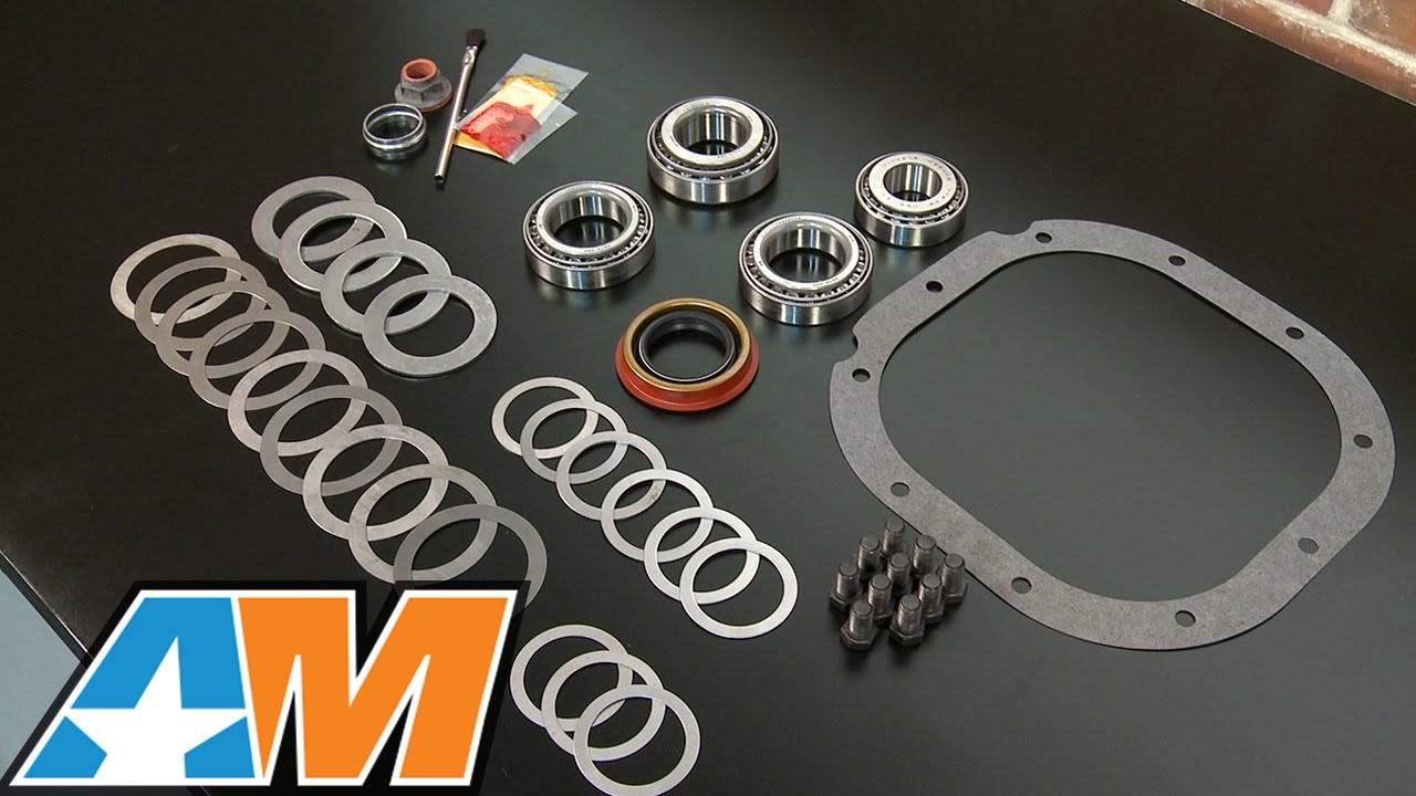 hight resolution of mustang motive rear end installation and bearing kit 8 8 in 86 14 v8 11 14 v6 review