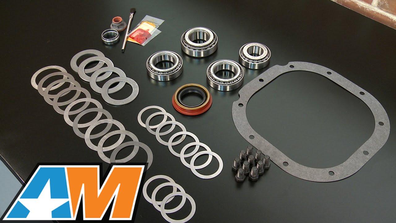 medium resolution of mustang motive rear end installation and bearing kit 8 8 in 86 14 v8 11 14 v6 review
