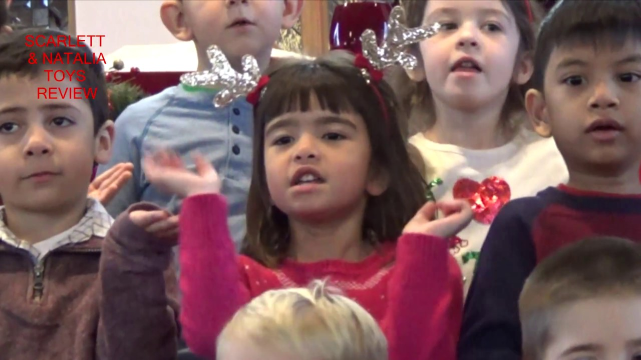 CHRISTMAS CONCERT Scarlett\'s 1st show (Justin Timberlake cover - Can ...