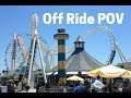 Sea Serpent Off Ride POV Morey's Piers
