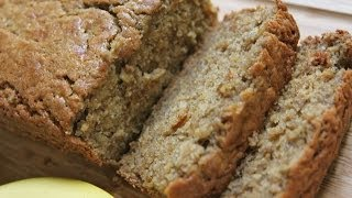 Healthy Moist Banana Bread (divas Can Cook) Low Calorie Low Carb