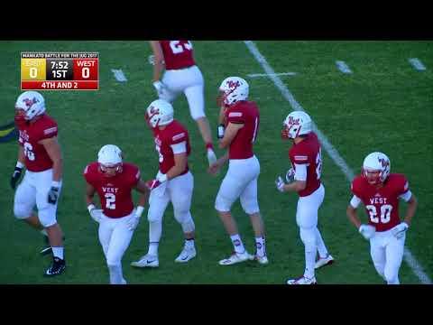 High School Football: Mankato East vs Mankato West 9.8.17