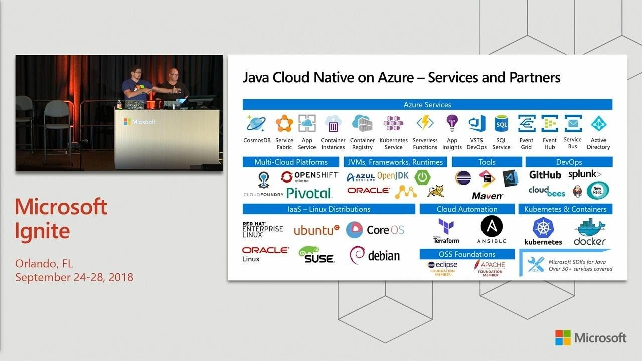 Build cloud-native applications using Java and open source tools - BRK3207