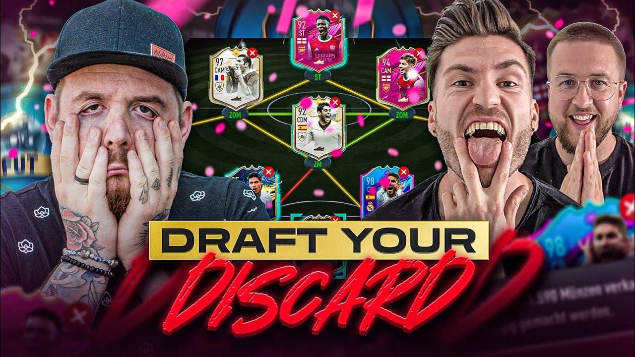WIEVIEL DIFFERENZ NOCH 😭😨 PAFEKT 🤷♂️ DRAFT YOUR DISCARD 💀 vs TISI SCHUBECH FIFA 21 FUT DRAFT