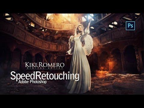 """Queen of Light"" Speed Photoshop Retouching | Kiki Romero Fotografia © Studio Pictorium"