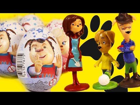 Барбоскины игрушки  Шоколадные яйца с сюрпризом