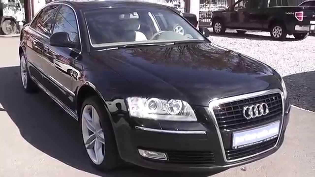 audi a8 d3 4e 2008 youtube. Black Bedroom Furniture Sets. Home Design Ideas